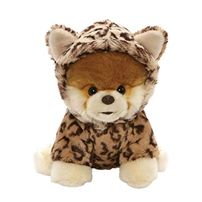"GUND World's Cutest Dog Boo Leopard Outfit Plush Stuffed Animal 9"": Toys & Games"