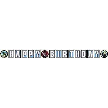 LEGO Star Wars - Guirnaldas de cumpleaños con Mensaje Happy ...