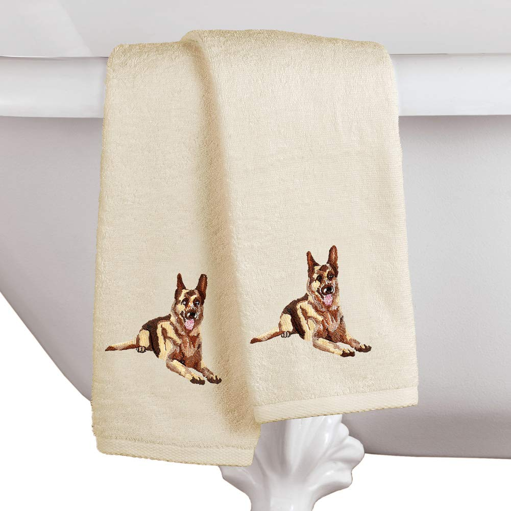CHIHUAHUA U CHOOSE  SET OF 2 HAND TOWELS EMBROIDERED
