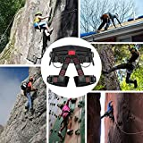 GABBRO Padded Climbing Harness Thickened Protect