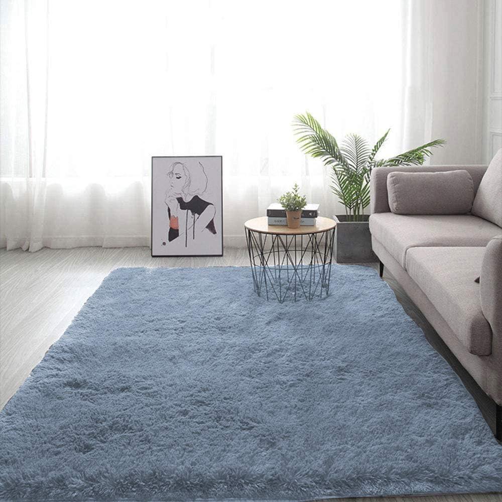 Washable Anti-Skid Shaggy Big Rug Faux Fur Carpet Fluffy Home Lounge Floor Mats