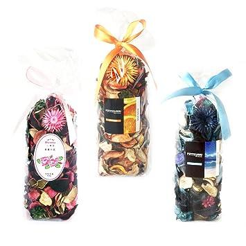 qingbei Rina Regalos, popurrí bolsa, decoración hogar. Cristal pecera bolsas.: Amazon.es: Hogar