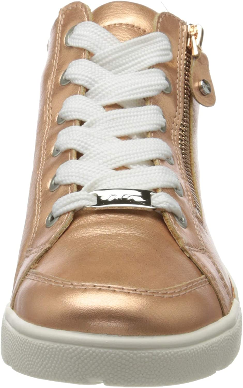 ara Damen ROM Hohe Sneaker Gold Rosegold 12