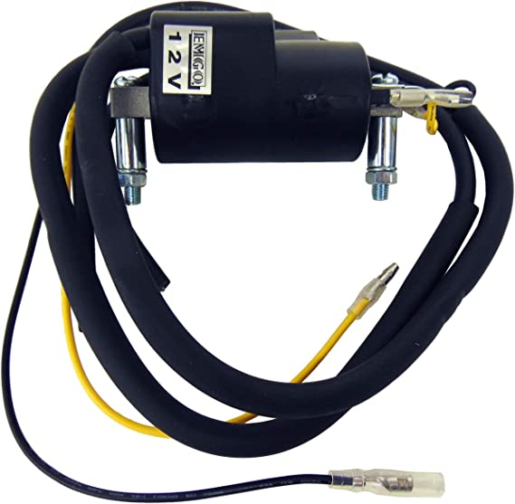 [QMVU_8575]  Amazon.com: Dual Wire 12 volt Ignition Coil Compatible with Honda CL160  CL175 Scrambler CMX450 Rebel 90mm: Automotive | Honda Cb160 Wiring |  | Amazon.com