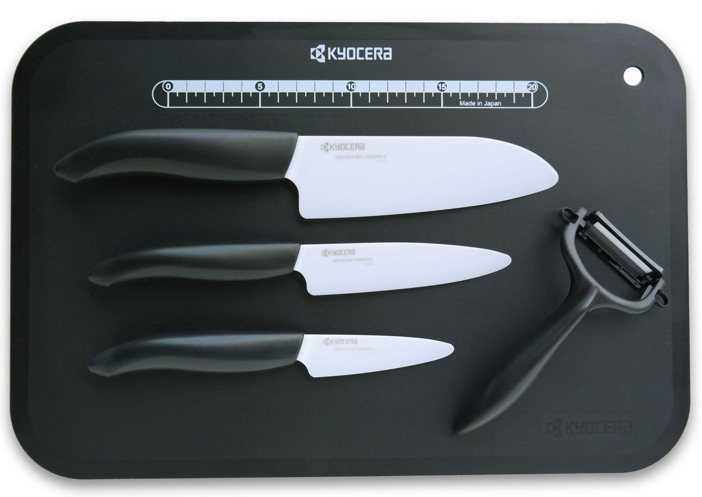 Compra Kyocera - Juego de cuchillos y accesorios de cerámica ...