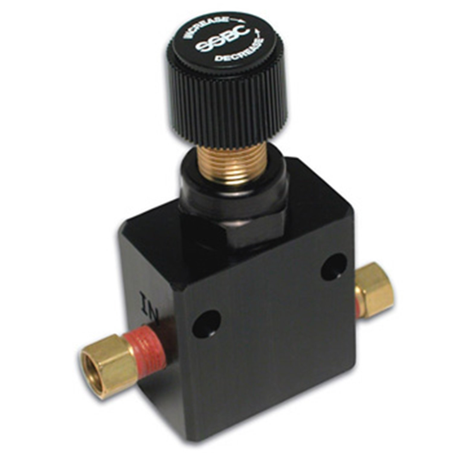 SSBC A0707-1 Black Anodized Adjustable Proportioning Valve