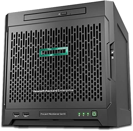 HP MicroServer Gen10 Tower Server for Business RAID 32GB, 8TB HDDs, Windows 2016 3 Years Warranty Windows Sever 2016 AMD Opteron X3421 up to 3.4GHz 32GB RAM 8TB Storage