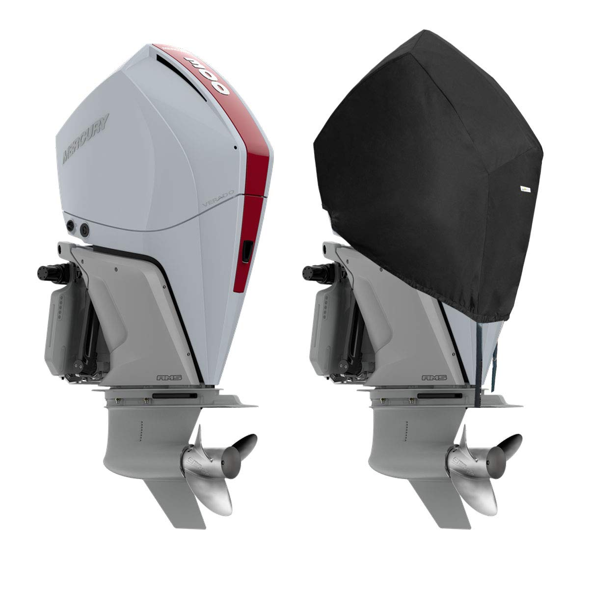 4 Stroke V8 4.6L 450R 300HP Oceansouth Mercury Half Outboard Cover 250HP 2018 200 to 300 Pro XS