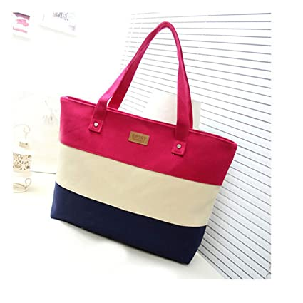 Amazon.com: Canvas Tote Handbags Women Messenger Bags Ladies ...