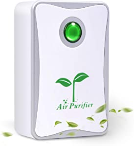 Belita Amy Air Purifier, Plug in Air Purifier for Home Mini Portable Silent Air Purifier Travel-Size Air Cleaner for House Bedroom Bathroom Kitchen Remove Pet Smell Cigarette Smoke Odor