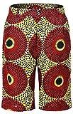 Shenbolen Men African Pants Dashiki Ankara Tradition Clothing(B,X-Large)