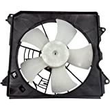 Drivers Denso Type Radiator Cooling Fan Motor Assembly Replacement for Honda 2.4L 19020-RWP-J51