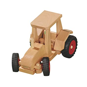 Schlepper-Traktor Holzspielzeug Fahrzeuge fagus®