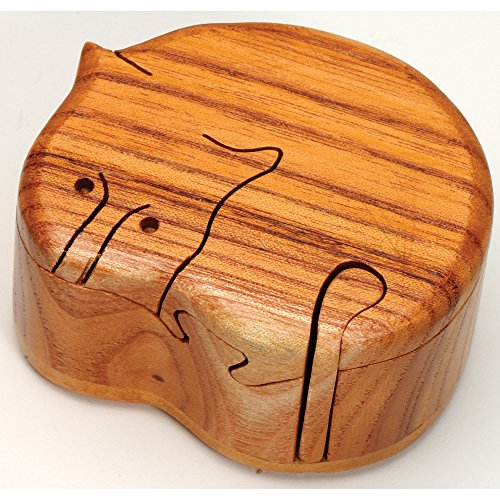 Bits and Pieces - Cat Box Brainteaser Puzzle - Brain Game for Children and Adults