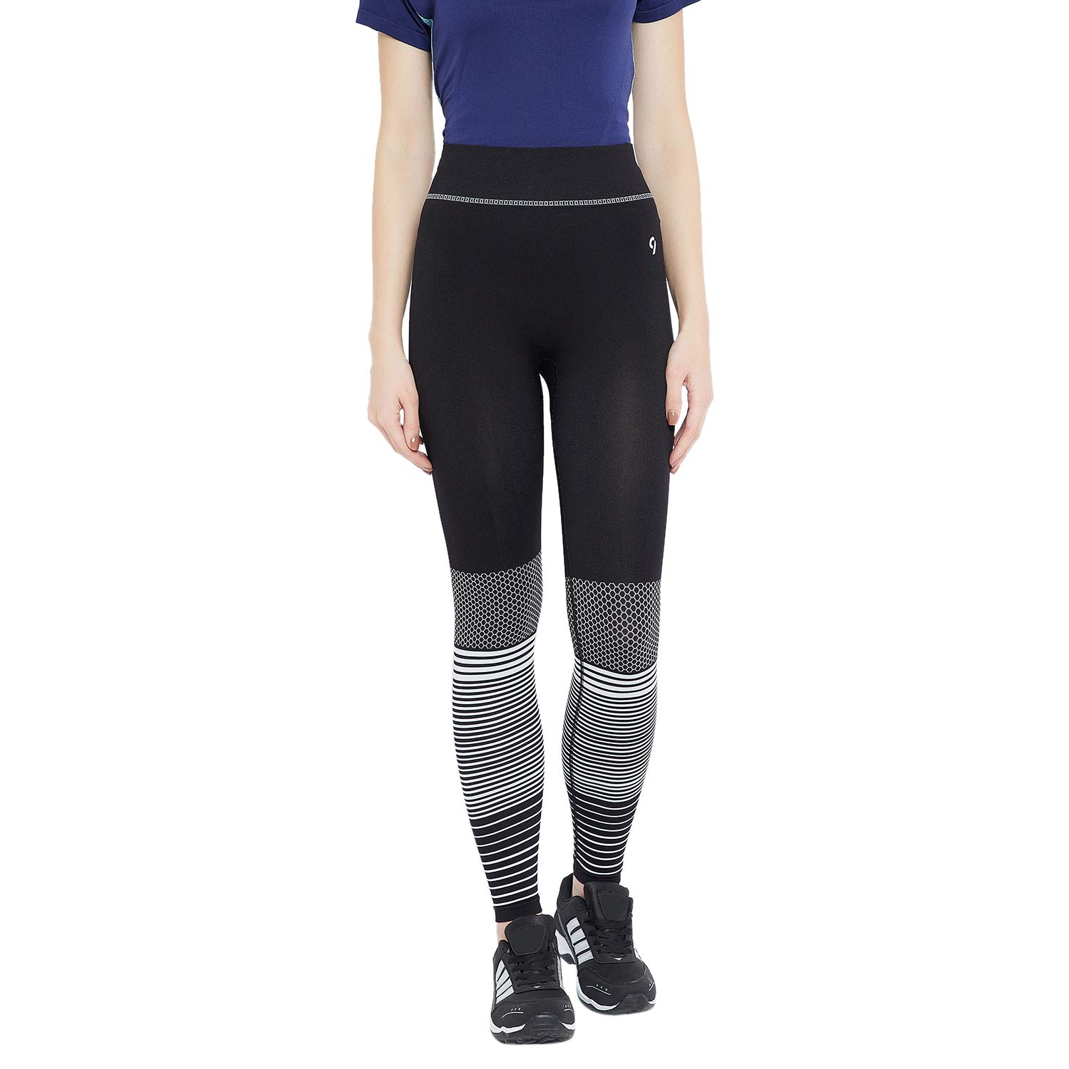 9b0a7da84a67d7 C9 Women Solid Jet Black Ankle Length Legging: Amazon.in: Clothing &  Accessories