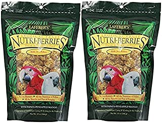 product image for LAFEBER'S (2 Pack) Gourmet Tropical Fruit Nutri-Berries for Macaw/Cockatoo 10 oz Bag