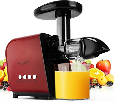 KOIOS Juicer Slow Masticating Juicer Extractor with Reverse Function