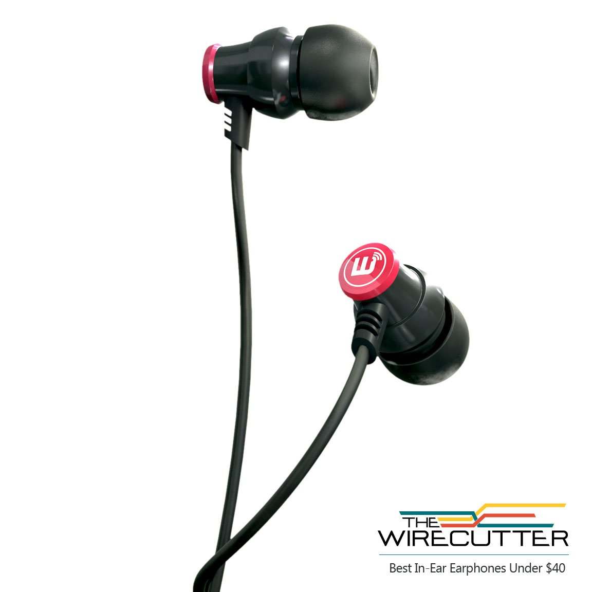 Brainwavz Delta Black IEM In Ear Earbuds Noise Isolating Earphones Remote Headset Apple iPhone & Android