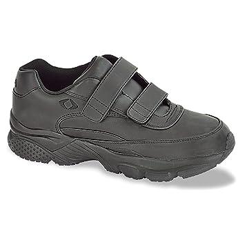 00b4f35196a5 Apex Men s Men s Strap Walker 2 Strap Black Shoe