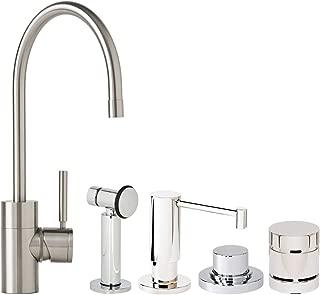 product image for Waterstone 3800-4-VB Parche Kitchen Faucet 4pc. Suite Venetian Bronze
