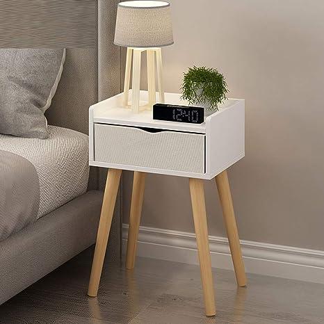 Amazon.com: Mesas con cajón de madera para salón o sofá ...