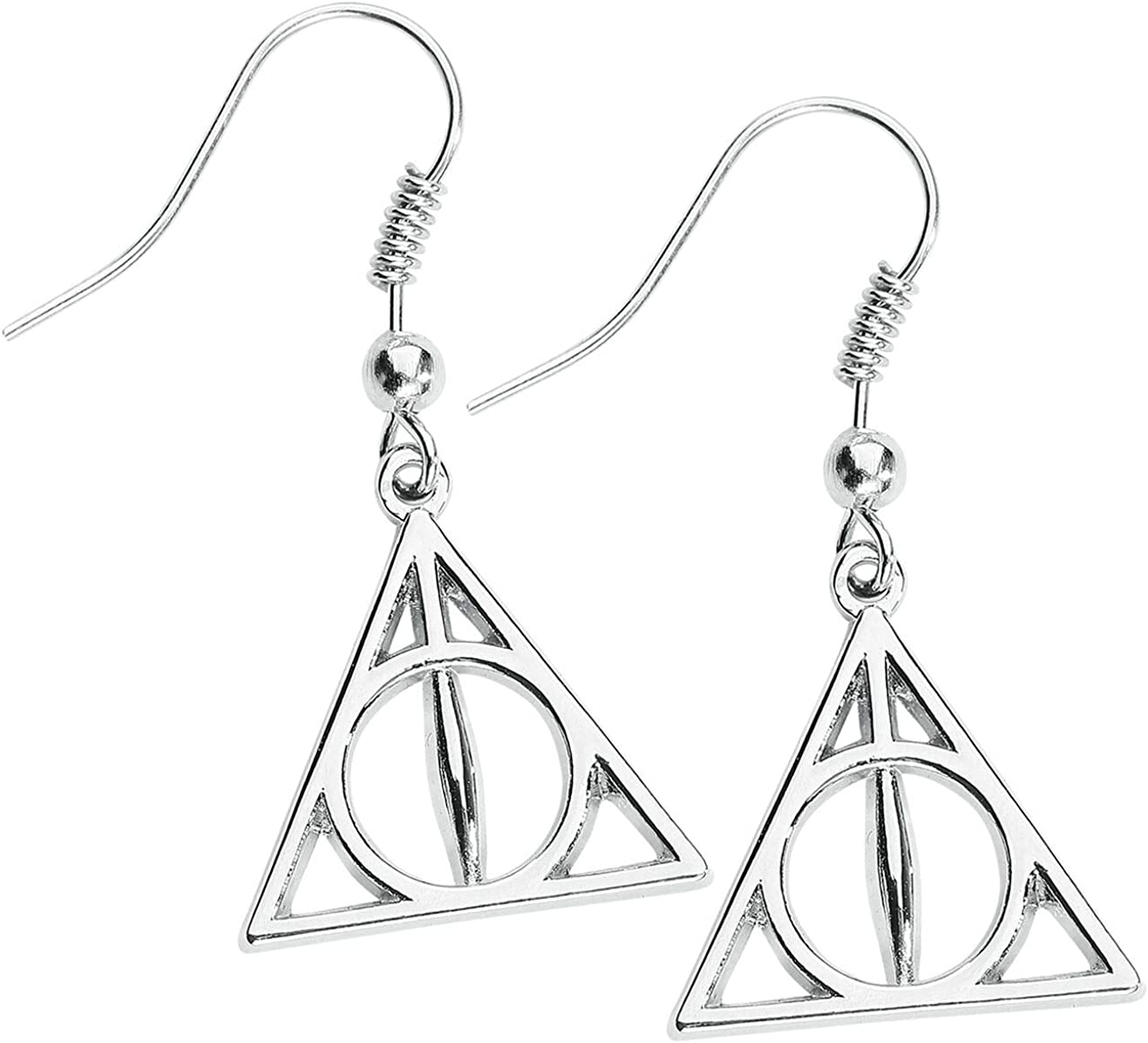 Official Harry Potter Jewelry Deathly Hallows Earrings