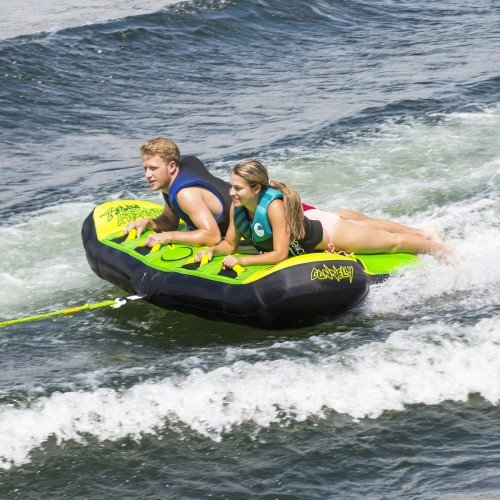 Connelly Raptor 2 Rider Winged Deck Tube, Two-Person Towable Open Water  Inflatable