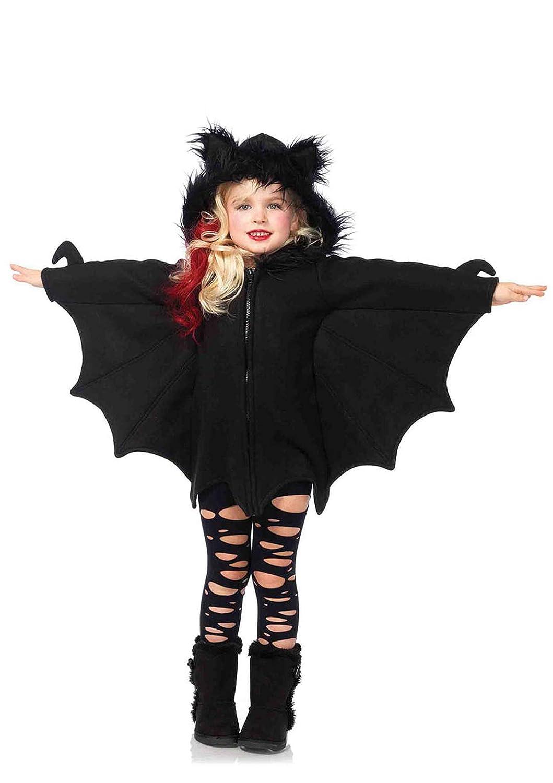 Leg Avenue Costume per travestimento da Pipistrello, Bambina, colore: Nero, M (7 10 anni)