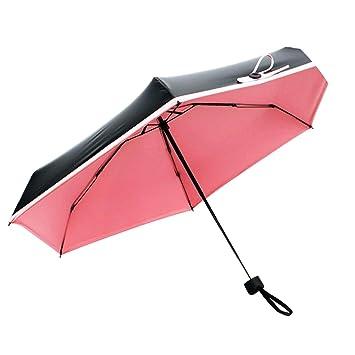 a79df8584abe Amazon.com: Mini Pocket Umbrella Women Sunny And Rainy Mini Fashion ...