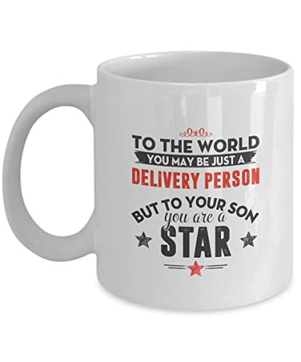 Delivery Person Coffee Mug