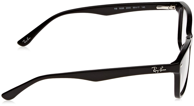 b62f89e8edc28 Ray-Ban RX 5228 eyeglasses  Amazon.in  Clothing   Accessories