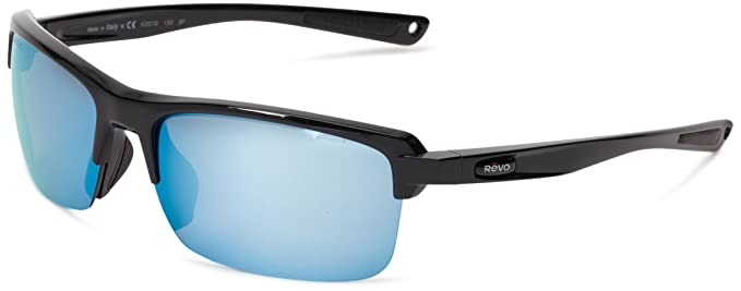 9a7027a709b9 Amazon.com  Revo Mens Crux N RE4066-02 Polarized Iridium Sport ...
