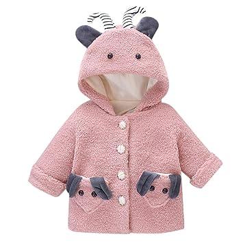 Toddler Baby Girl Kids Cute Rabbit Hoodies Jacket Coat Fleece Warm Outwear Tops