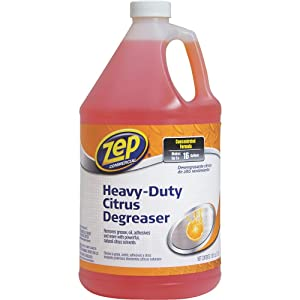 Zep Heavy-Duty Citrus Cleaner Degreaser 128 ounce ZUCIT128