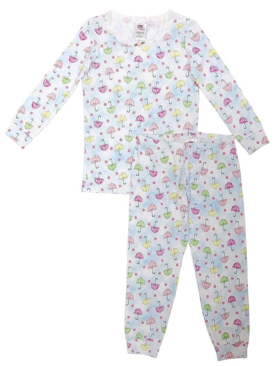 Esme Girls Comfortable Snug Fit L//S Sleepwear Pajamas