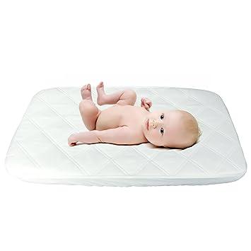 "Bassinet Pad Sheet Kids Baby Children Cotton Bed Sleep Cribs 15/"" X 33/"" Blue New"