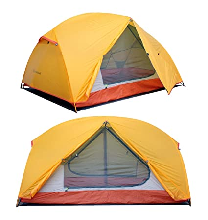 STAR HOME 2 Preson Professional Backpacking Tent Ultralight Waterproof Double Layer Tents for Hiking C&ing Hunting  sc 1 st  Amazon.com & Amazon.com : STAR HOME 2 Preson Professional Backpacking Tent ...