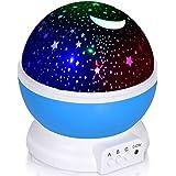 Adoric Proyector Lámpara De Dormir Lámpara Infantil Lámpara Proyector Infantil 360 Grados De Rotación 3 Modo de Luz De…