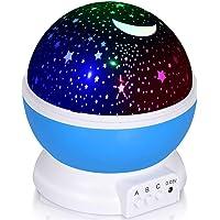 Adoric Proyector Lámpara De Dormir Lámpara Infantil Lámpara Proyector Infantil 360…