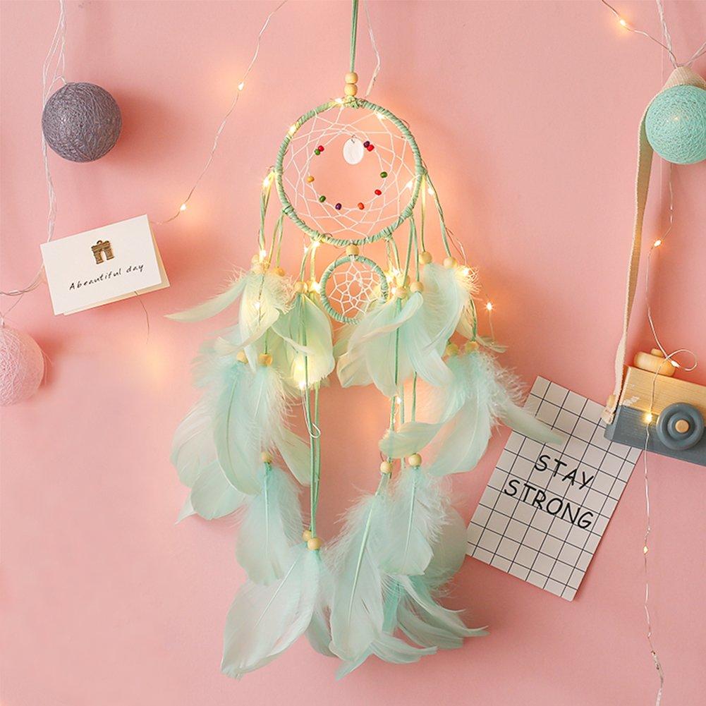 Dream Catcher Craft,DIY Dream Catcher Kit Handmade Wall Decor Catchers for Birthday Party Baby Shower Bridal Shower Wedding Nursery Baby Room Kids Bedroom Wall Decor
