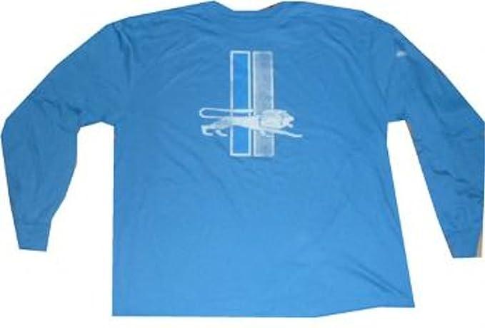 4e88fb0abc9e6 Reebok Detroit Lions Throwback Vintage Pro Style Long Sleeve T Shirt XL