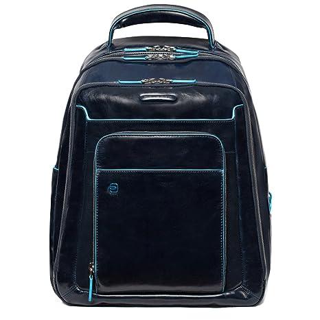 rivenditore online 21bea f73ea Piquadro CA1813B2 Zaino, Collezione Blu Square, Blu