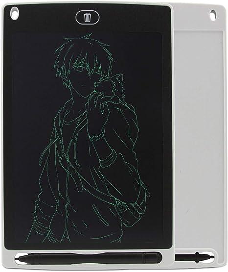 AIBAB Panel LCD Pizarra Electronica Plato Plano LCD Juguetes Educativos Tableta De 8,5 Pulgadas Tablero De Dibujo para Niños: Amazon.es: Hogar
