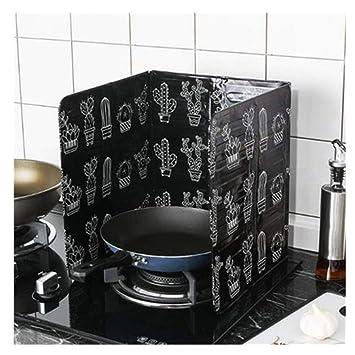 Compra Protección antisalpicaduras para Cocina Pantallas antisalpic, Respaldo De La Estufa Protectora De Salpicaduras, Evitar El Rociado Con Aceite Cocinar ...