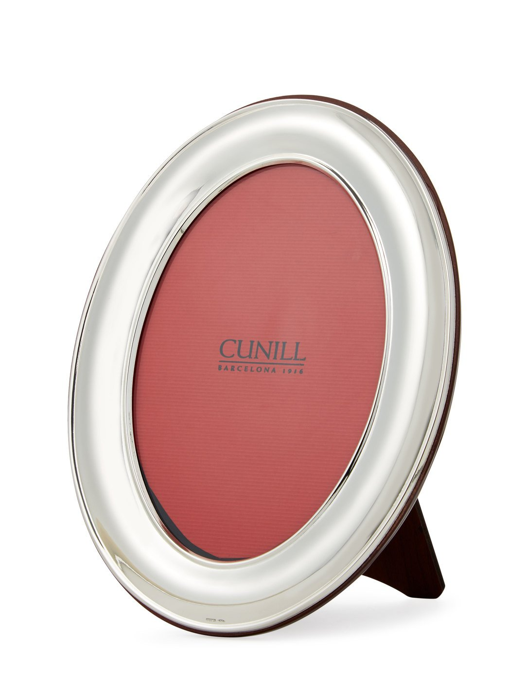 Cunill 96646 Oval Plain 4x6'' Frame Sterling Silver Picture Frame