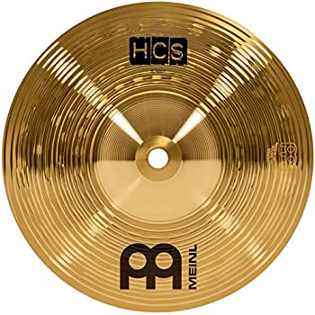 meinl 10 splash cymbal hcs traditional finish brass for drum set made in germany. Black Bedroom Furniture Sets. Home Design Ideas