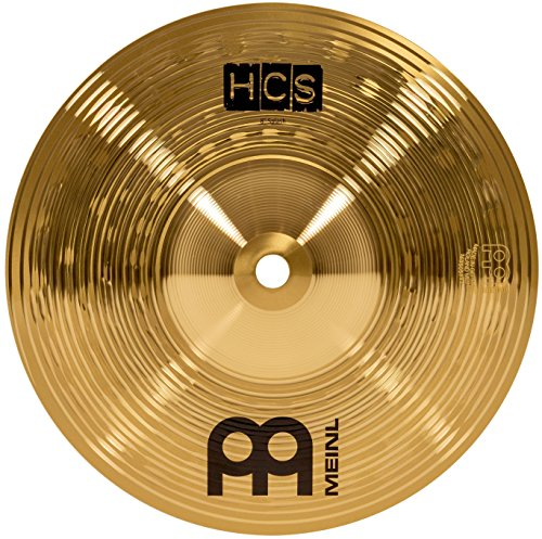 Meinl 8? Splash Cymbal ? HCS Traditional Finish Brass for Drum Set, Made In Germany, 2-YEAR WARRANTY (HCS8S)