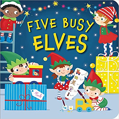 Five busy elves de Patricia Hegarty
