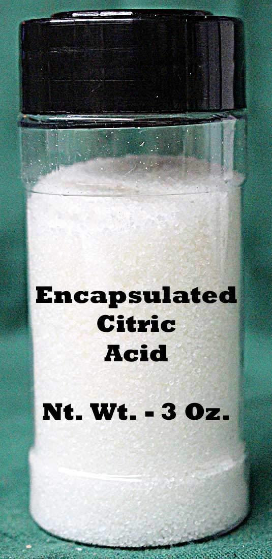 Encapsulated Citric Acid - 3 Ounce Bag
