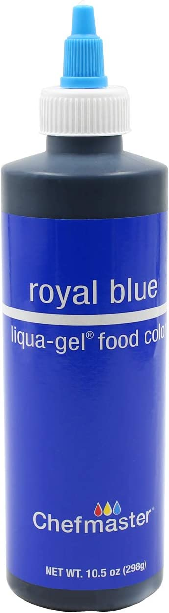 U.S. Cake Supply 10.5-Ounce Liqua-Gel Cake Food Coloring Royal Blue